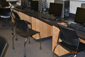 New chairs make a huge difference!